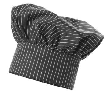 Toque de chef chapeau de bistro toque de chef taille unie for Cuisinier chapeau noir
